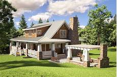bungalow house plans with wrap around porch adorable cottage with wraparound porch 18251be cottage