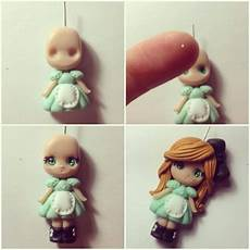 Adorable Polymer Clay Flat Back Cake Figure