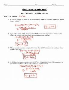 gas laws practice worksheet with answers sat ii practice problems gas laws