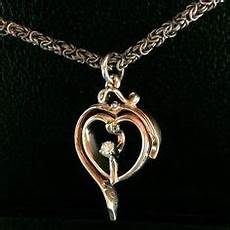 turning an old wedding band into a beautiful heart pendant to be cherished for a lifetime