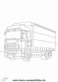 Malvorlagen Lkw Scania Kleurplaat Scania V8 Lkw Ausmalbilder Malvorlagen