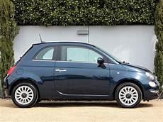 Used Epic Blue Metallic Fiat 500 For Sale Dorset