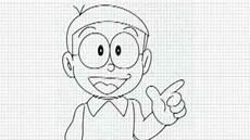 Gambar Kartun Doraemon Keren Hitam Putih