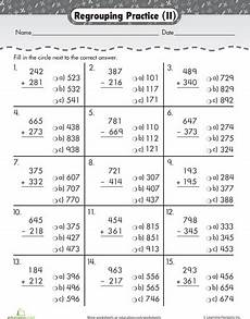 grade 3 math worksheet addition and subtraction digits 3 digit addition subtraction math