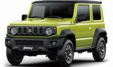 official images of new 2019 suzuki jimny revealed