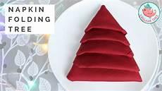 Napkin Folding Tree Tutorial 187 Origamitree