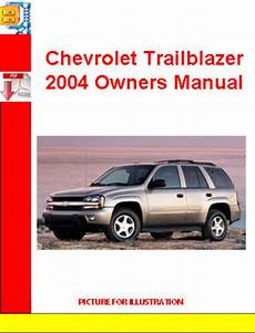 auto repair manual online 2004 chevrolet blazer parking system chevrolet trailblazer 2004 owners manual download manuals t