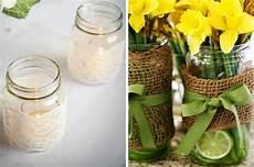 decorare vasi di vetro ceciefave barattoli di vetro passione