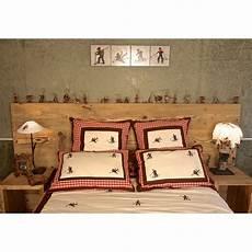T 234 Te De Lit En Bois Rustique Deco Maison Design Deco