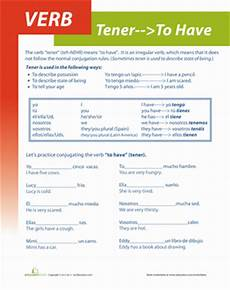 worksheet tener answers 18726 verb tener worksheets practice learning