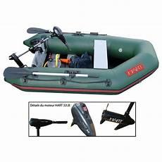 pack bateau gonflable hart trooper 270 moteur hart 32 lbs