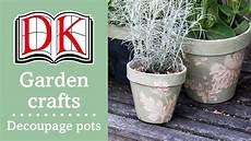 p0tzxs garden ideas decorating terracotta pots with decoupage