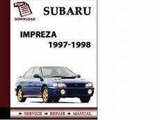how to fix cars 1998 subaru impreza transmission control subaru impreza 1997 1998 workshop service repair manual pdf download tradebit