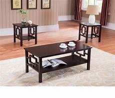 coffee table set living room furniture end contemporary modern wood cocktail new ebay