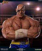 These Badass 13 Scale Street Fighter Sagat Statues Sell