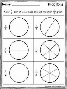 fraction worksheets level 1 4001 fractions worksheets for grade by learning juniors tpt