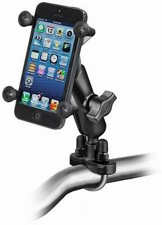ram mount motorcycle handlebar mount w x grip cell phone