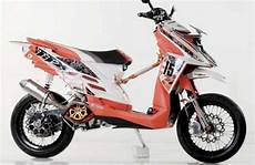 X Ride 125 Modif Supermoto by Gambar Modifikasi Yamaha X Ride Fi Konsep Cross Dan