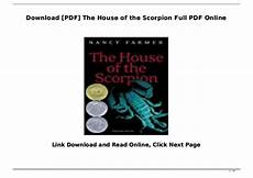 house of the scorpion lesson plans download pdf the house of the scorpion full pdf online