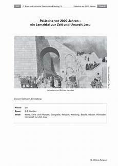 Ausmalbilder Umwelt Jesu Pal 228 Stina Vor 2000 Jahren
