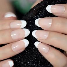 aliexpress com buy nail art salon oval acrylic french
