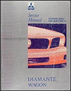 car repair manual download 1998 mitsubishi diamante spare parts catalogs 1993 1994 mitsubishi diamante wagon repair shop manual original