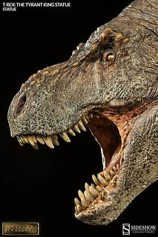 dinosauria t rex the tyrant king statue by sideshow