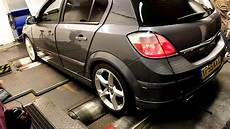 opel astra h 2 0 turbo tuning mk5 astra sri 2 0 turbo 200 xp dyno run