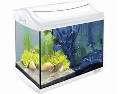 aquarium tetra aquaart led 20 l weiss ohne unterschrank