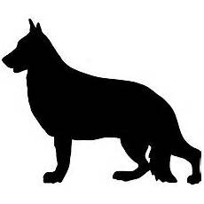 Free Business Cards Templates German Shepherd Silhouette Running Silhouette Image Free Vector