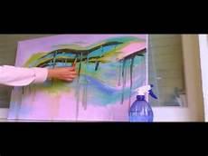 Acrylbilder Modern Selber Malen - abstraktes bild malen speed painting