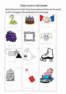 a e split digraph worksheet by joop09 teaching resources