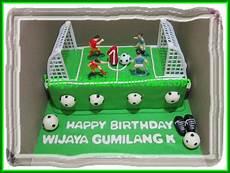 Cake Lapangan Sepak Bola Wijaya Coklatchic Cake