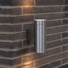 nordlux tin maxi double outdoor wall light aluminium