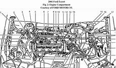ford 2 0 engine diagram 2001 ford zx2 2 0 idling car would idle and