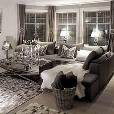 Home Decor Ideas Black And Grey by 44 Black Grey Silver Living Room Chic Shadows Black