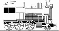 Malvorlage Zug Lokomotive Ausmalbilder Eisenbahn