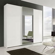 armadio a 3 ante armadio colmar a 3 ante scorrevoli bianco lucido foto