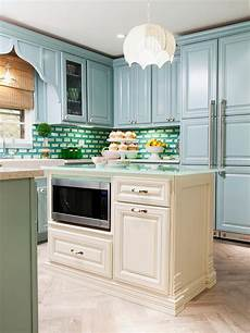 Green Kitchen Backsplash Kitchen Colors Color Schemes And Designs