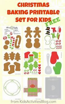 free cute christmas baking printables free homeschool deals