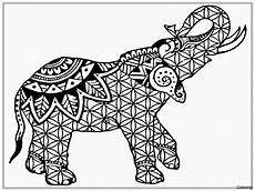 elephant mandala coloring pages collection free coloring sheets