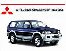 service repair manual free download 1998 mitsubishi challenger on board diagnostic system mitsubishi challenger 1998 2006 workshop repair manual tradebit