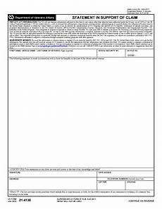 2011 form va 21 4138 fill online printable fillable