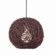 Suspension En Bois Marron Luminaire Design Pour Plafond