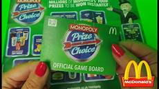 mcdonalds monopoly 2017 mcdonald s prize choice monopoly uk launch 2016