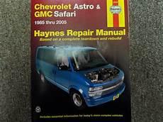 chilton car manuals free download 1996 chevrolet s10 navigation system 1985 2005 haynes chevrolet chevy astro gmc safari service repair shop manual x ebay