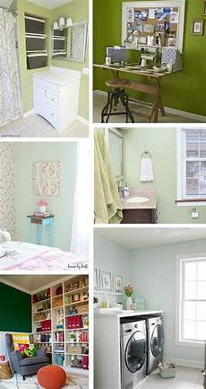 green paint colors every room house collage green with decor