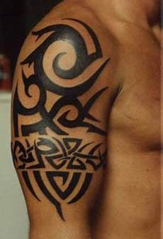 Design Ideas For Arm Tribal Design For