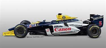 Classic Formula One Cars Given Futuristic Redesigns