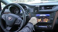 Toyota Touch 2 Interface
